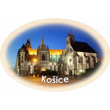 Magnetka ovál Košice 05