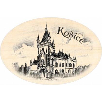 Magnetka ovál Košice 06