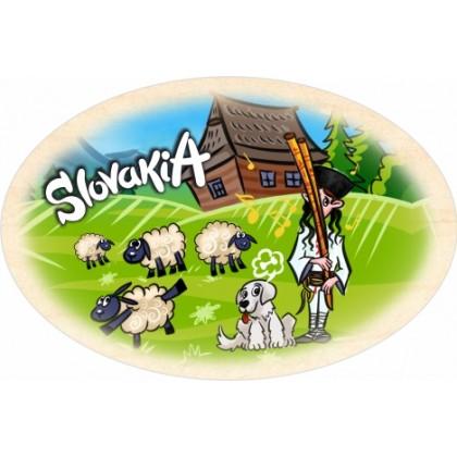 Magnetka ovál Slovakia 01