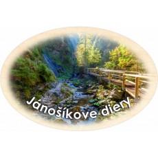 Magnetka ovál Terchová Jánošíkove Diery 03