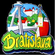 Magnetka gumová Bratislava 2