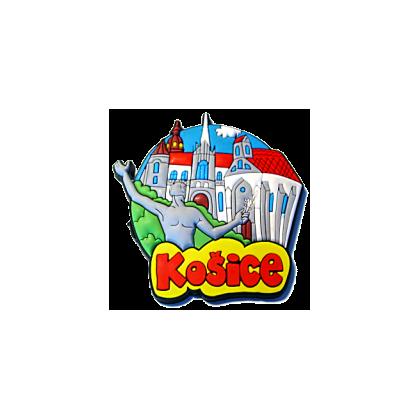 Magnetka gumová Košice 1