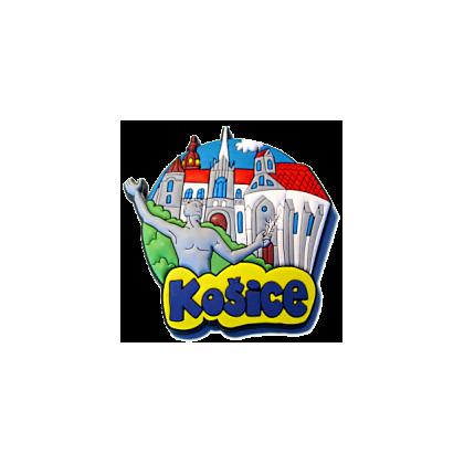 Magnetka gumová Košice 1a