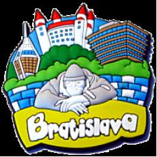 Magnetka gumová Bratislava 1