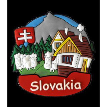 Magnetka gumová Slovakia 1a