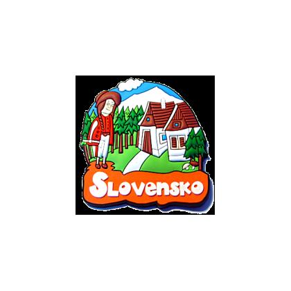 Magnetka gumová Slovensko 2