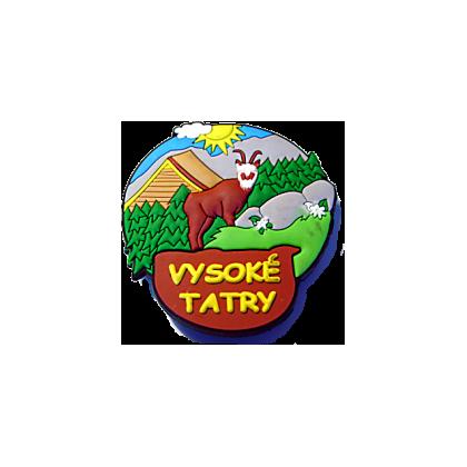 Magnetka gumová Vysoké Tatry