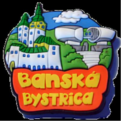 Magnetka gumová Banská Bystrica 3