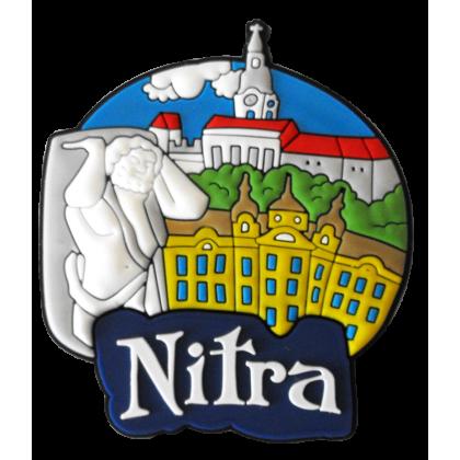 Magnetka gumová Nitra