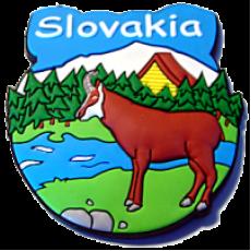 Magnetka gumová Slovakia 2