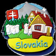 Magnetka gumová Slovakia 1