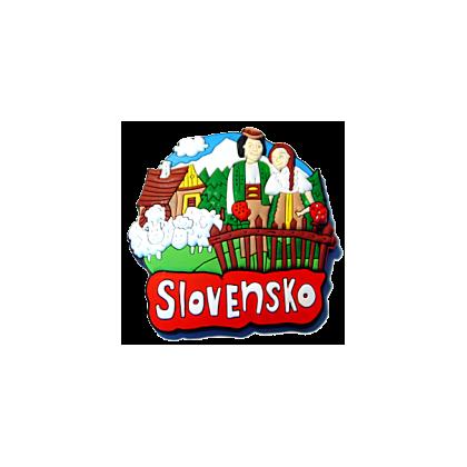 Magnetka gumová Slovensko 1