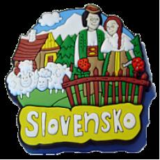 Magnetka gumová Slovensko 1b