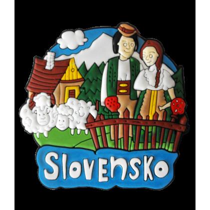 Magnetka gumová Slovensko 1a