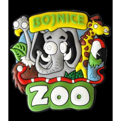 Magnetka gumová Bojnice Zoo 1a