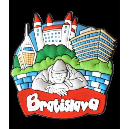 Magnetka gumová Bratislava 1a