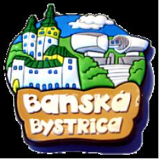 Magnetka gumová Banská Bystrica 4