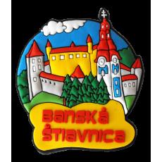 Magnetka gumová Banská Štiavnica