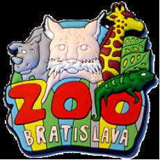 Magnetka gumové Bratislava Zoo 1a