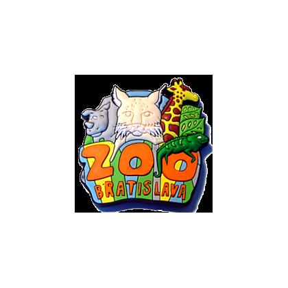 Magnetka gumová Bratislava Zoo 1