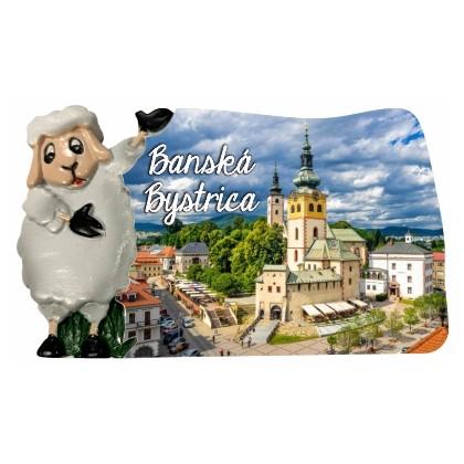 Magnetka Banská Bystrica 03 kompozitná