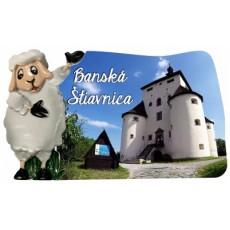 Magnetka Banská Štiavnica 02 kompozitná