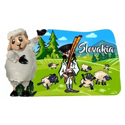 Magnetka Slovakia 01 kompozitná