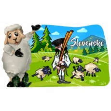 Magnetka Slovensko 02 kompozitná