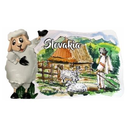 Magnetka Slovakia 05 kompozitná