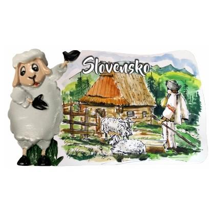 Magnetka Slovensko 06 kompozitná