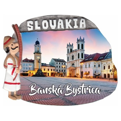 Magnetka Banská Bystrica 01 kompozitná