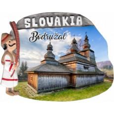 Magnetka Bodružal 02 kompozitná