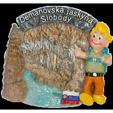 Magnetka Demänovská jaskyňa slobody kompozitná