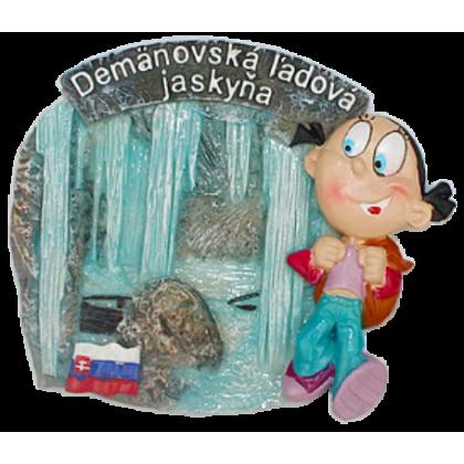 Magnetka Demänovská Ladová jaskyňa kompozitná