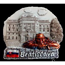 Magnetka Bratislava SND čb kompozitná