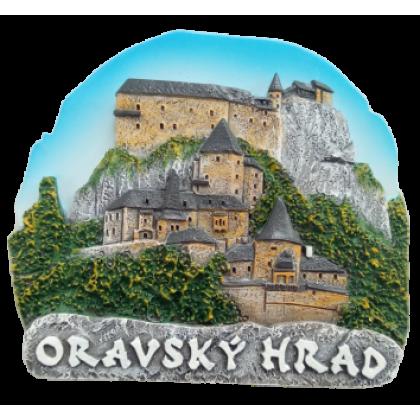 Magnetka Oravský hrad kompozitná