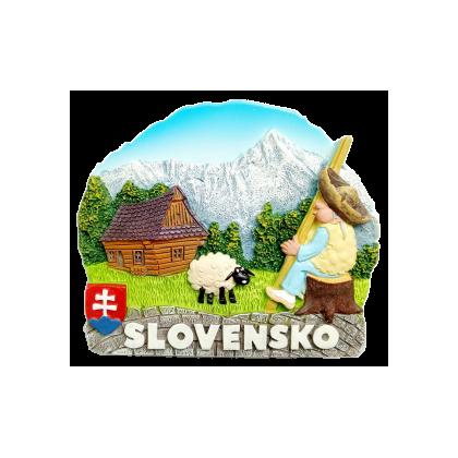 Magnetka Slovensko 04 kompozitná