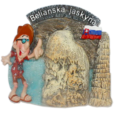 Magnetka Belianska Jaskyňa kompozitná