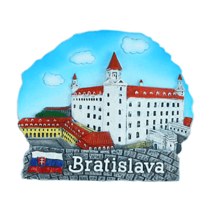 Magnetka Bratislava Hrad far kompozitná