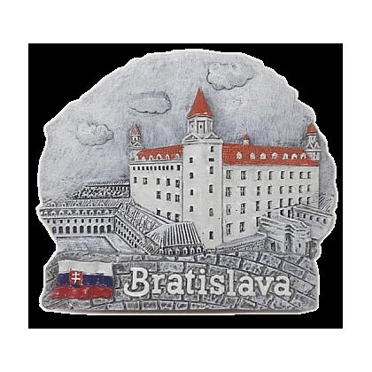 Magnetka Bratislava Hrad čb kompozitná