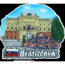 Magnetka Bratislava SND far kompozitná