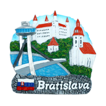 Magnetka Bratislava Nový most kompozitná