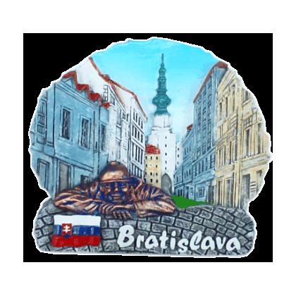 Magnetka Bratislava Michalská brána far kompozitná