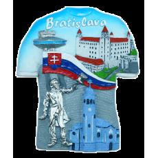Magnetka Bratislava tričko mix kompozitná