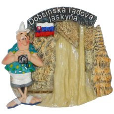 Magnetka Dobšinská Ľadová jaskyňa kompozitná