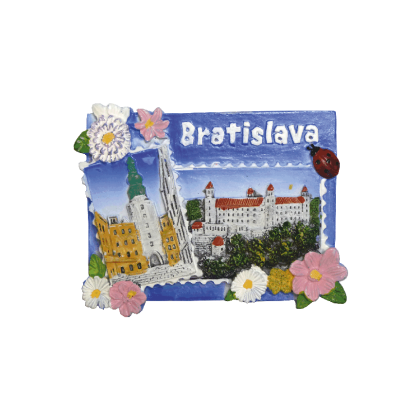 Magnetka Bratislava 2 kompozitná