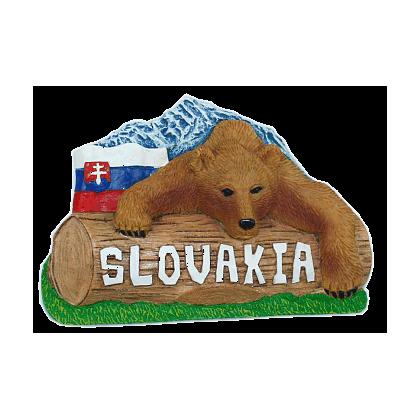 Magnetka Slovensko medveď kompozitná