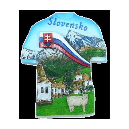 Magnetka Slovensko leto kompozitná