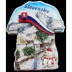 Magnetka Slovensko zima kompozitná