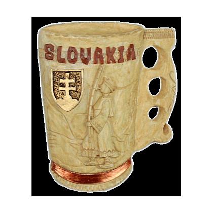 Magnetka Črpák Slovakia fujarista kompozitná